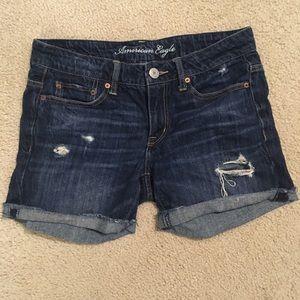 American Eagle 4.5in Inseam Denim Shorts